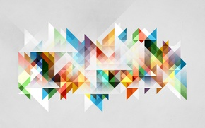 Wallpaper color, abstraction, geometry, figure