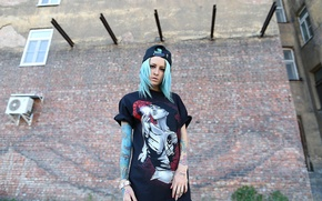 Picture photo, model, Girl, tattoo, Bantik Sized, Georg Khrapov