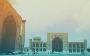 Picture East, The city, Samarkand, Registan Square, Old buildings