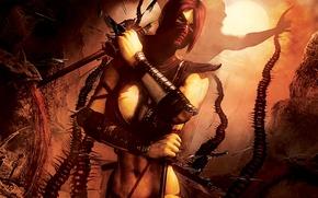 Picture Art, Mortal Kombat, Mortal Kombat 9, Komplete Edition, Scarlet