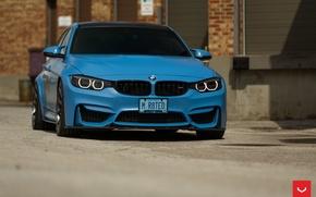 Picture machine, auto, BMW, BMW, wheels, drives, auto, Vossen Wheels