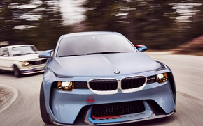 Picture auto, Concept, speed, turn, BMW, and, 2002, Hommage, 02 Series