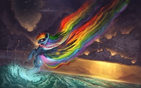 Picture Rainbow Dash, Rainbow Dash, My Little Pony: Friendship is Magic, by Rain-Gear