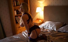 Wallpaper chest, feet, model, hair, linen, Tits, blonde, nipples, hot, legs, sexy, lingerie, Sisi, panties, legs, ...