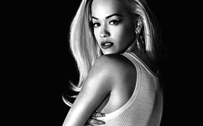 Picture blonde, singer, Rita Ora, Rita Ora