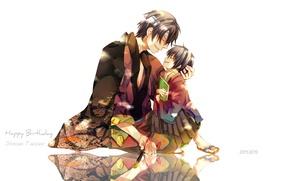 Picture anime, boy, art, guy, GinTama