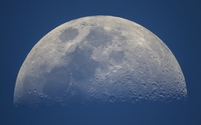 Picture space, the moon, satellite