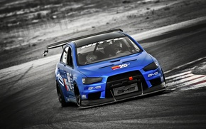 Picture track, mitsubishi, lancer, evolution, evo