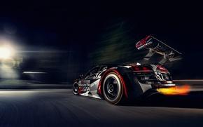 Picture night, race, sport, APR Audi R8