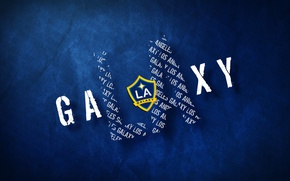 Picture wallpaper, sport, logo, football, Los Angeles Galaxy
