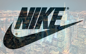 Picture night, new york, nike