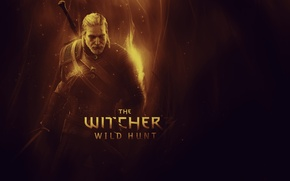 Picture The Witcher 3, The Witcher 3, Wild Hunt, The wild hunt, Geralt of Rivia