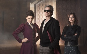Picture look, girl, woman, actress, glasses, actor, male, actors, Doctor Who, Doctor Who, Peter Capaldi, Peter …