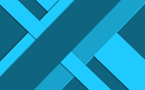 Picture line, blue, geometry, design, material