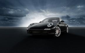 Picture Porsche, Black, C2S