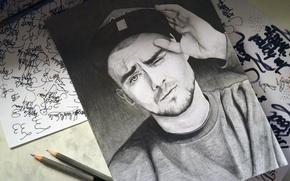 Picture draw, hiphop, poland, quebonafide