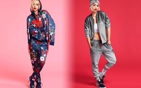 Picture Adidas, Rita Ora, Originals, clothing collection