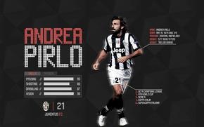 Picture Soccer, Juventus, Andrea Pirlo, FinoAllaFine