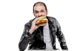 Picture actor, food, hamburger
