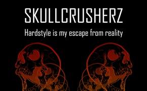 Picture Music, Skull, Sake, Hardstyle, SkullCrusherZ