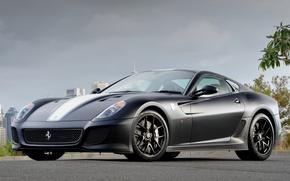 Picture Ferrari, grey, Ferrari, 599, GTO