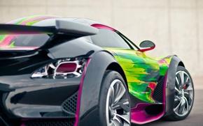 Picture Concept, Citroen, Car, Art, Survolt