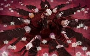 Picture anime, art, Tokyo ghoul, Tokyo Ghoul, Ken Kanek, Kirishima Bring, Juuzou Suzuya, Shuu Tsukiyama, Koutarou …