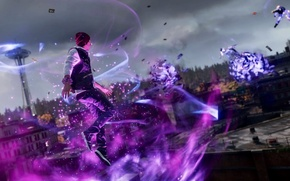 Picture playstation, ps4, delsin Rowe, delsin row, Infamuos second son