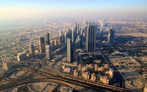 Picture the city, road, Dubai, dubai, UAE, district