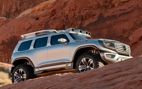 Picture Concept, mountains, Mercedes-Benz, Mercedes, suv, 4x4, Ener-G-Force