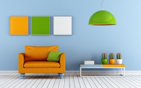 Wallpaper sofa, interior, interior, couch, stylish design, stylish design, Colorful lounge, colourful living room
