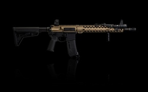 Picture weapons, assault rifle, AR-15, assault rifle