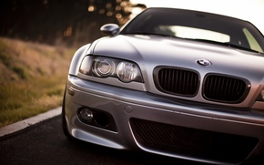 Picture BMW, headlight, the front, BMW M3