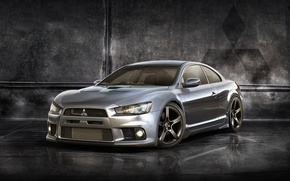 Picture concept, mitsubishi, prototype, jdm, tuning, lancer, evolution, evo, coupe, power