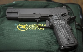 Picture gun, weapons, 9mm, Nighthawk