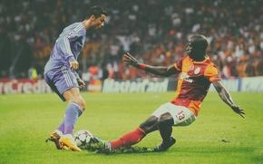 Picture lawn, Turkey, Ronaldo, nike, ronaldo, Champions League, cristiano, cleats, superstar, Galatasaray, the trick
