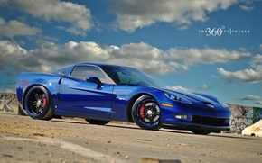 Picture Z06, Corvette, CF 5ive, on 360 Forged