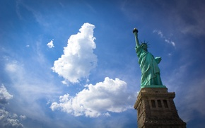 Picture USA, USA, NEW YORK, THE STATUE OF LIBERTY, STATUE OF LIBERTY, NEW YORK