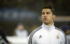 Picture football, form, Cristiano Ronaldo, player, football, Ronaldo, player, Real Madrid, Real Madrid, Ronaldo, Christiano Ronaldo