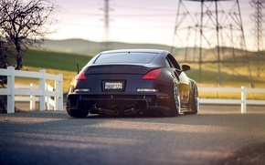 Picture Machine, Tuning, Nissan, Nissan, 350z, Tuning, Stance, Back