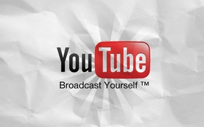 Picture paper, logo, logo, youtube, video