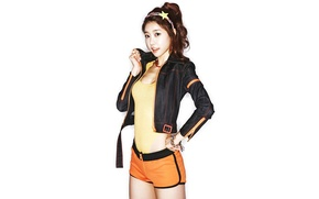 Picture Girl, Sexy, Music, White, Beauty, Kpop, Cute, Girls Day, Singer, Sojin