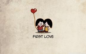 Wallpaper love, people, girls, mood, minimalism, love, guys
