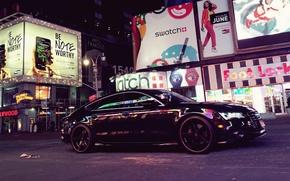 Picture machine, auto, the city, street, Audi A7