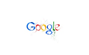 Picture paint, white background, Google
