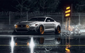 Picture Mustang, Ford, NFS, Need for Speed, 2015, NSF