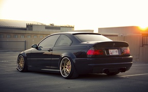 Picture car, tuning, bmw, BMW, tuning, stance, e46