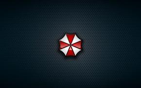 Picture red, logo, cross, Resident Evil, Umbrella, evil, Biohazard, Umbrella Corp., RE, by remaining Godzilla, Umbrella …