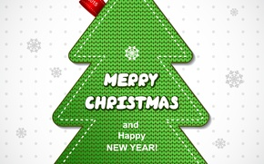 Picture Happy New Year, Tree, Merry Christmas, 2015