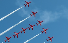 Picture Sky, Red Arrows, Eastbourne Airshow